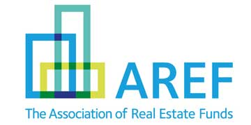 THE ASSOCIATION OF REAL ESTATE FUNDS logo