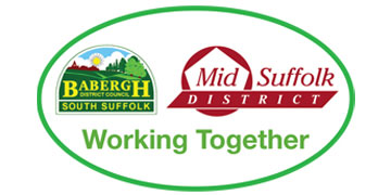 BABERGH AND MID SUFFOLK DISTRICT COUNCILS logo