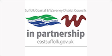 East Suffolk- Suffolk Coastal and Waveney District Councils logo